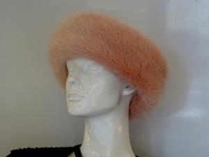 a fur hat
