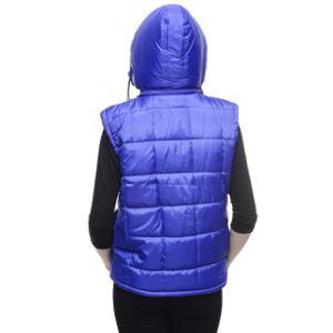 woman wearing vest